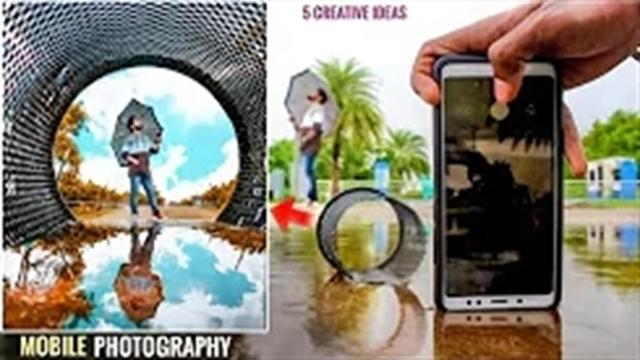 آموزش ترفندها و تکنیکهای عکاسی خلاقانه و حرفه ای با موبایل – بخش 16